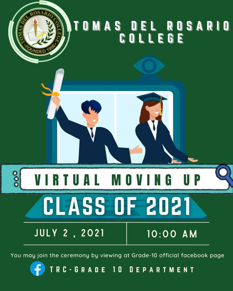 JUNIOR HIGH SCHOOL 2ND VIRTUAL MOVING UP CEREMONY S.Y. 2020 - 2021
