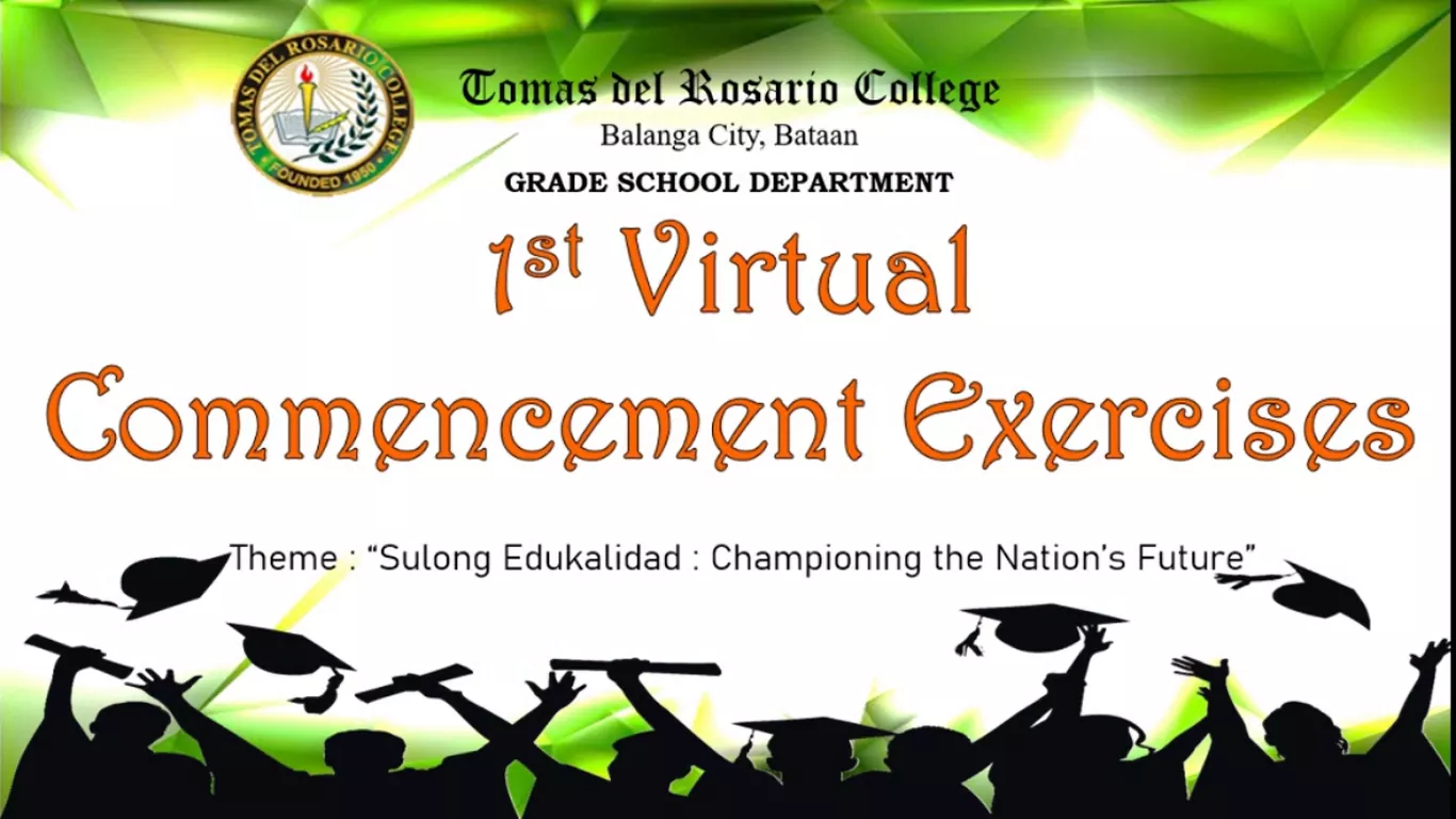1st Virtual Commencement Exercise